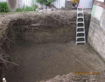 Mini Excavator - Grading, Example #7