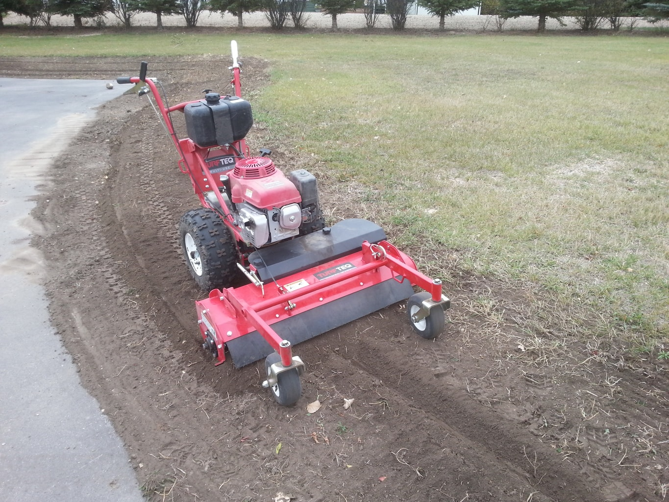 Turf-Teq Power Rake (Soil Conditioner)