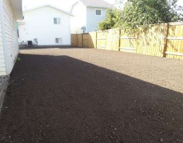 Soil Finishing, Example #2