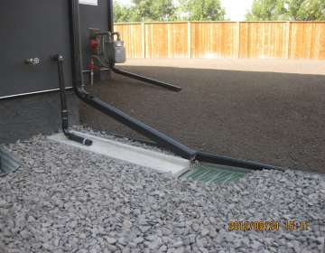 Water Drainage Solutions, Example #4