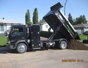 2-ton Service Style Dump Truck