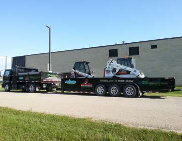 2-ton Service Style Dump Truck & Equipment Trailers